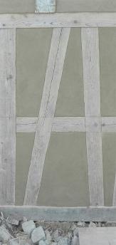 Fassadenaufbau Lehmgrundputz